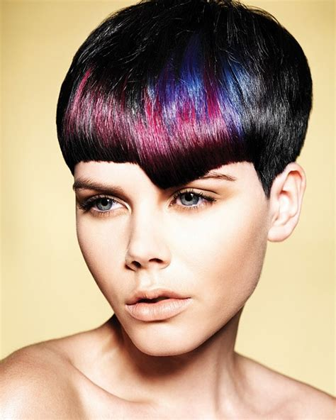 color pattern for short hair hairstyle ideas short straight hair