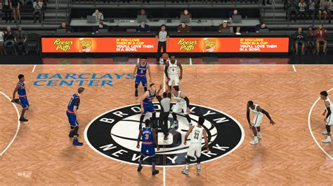 mod game center amarowaade barclays center nba 2k18 at moddingway