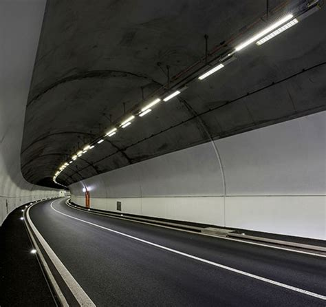 led lights in switzerland led lighting for switzerland s schallberg tunnel renovation