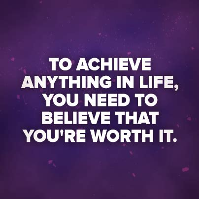 you are worth it quotespaper