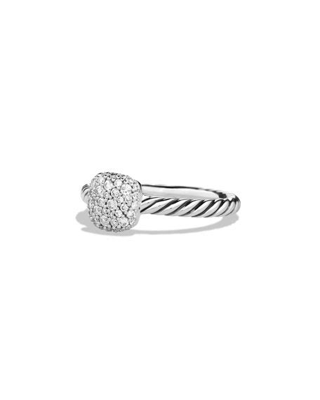 Hello Pave Ring From Neiman by David Yurman Pav 233 Cushion Stacking Ring Neiman