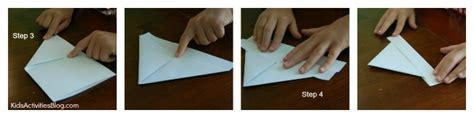 Paper Boat Steps - how to make a paper boat columbus day activities