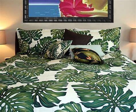 tropical leaf bedding set home   bed duvet covers duvet bedding duvet bedding sets