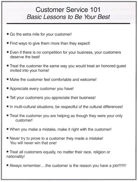 customer service 101 and easy techniques that get great results books customer service 101 customer service management