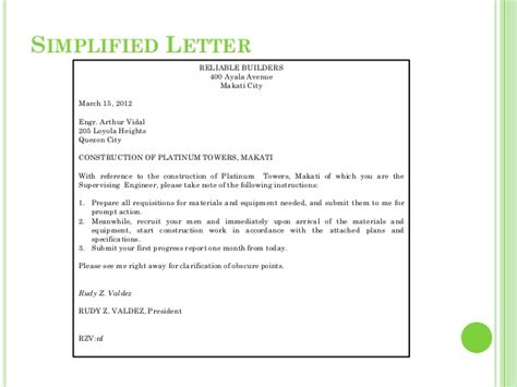 Hanging Indented Style Business Letter Definition rekayasa hidup