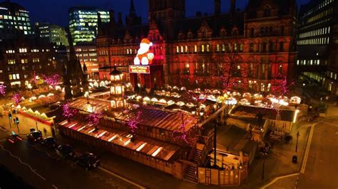 manchester christmas markets 2017 dates opening times