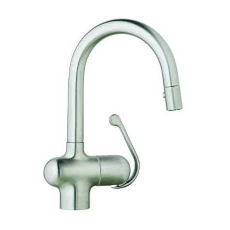 grohe ladylux pro single handle pull out sprayer kitchen