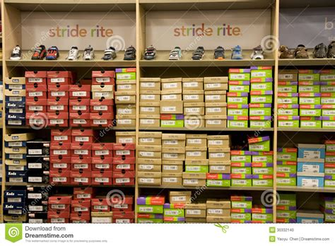 kid shoes stores sport shoe store editorial image image 30332140