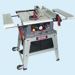 Craftsman 100 Table Saw Portable Craftsman 21807 Tool Test Table Saws This