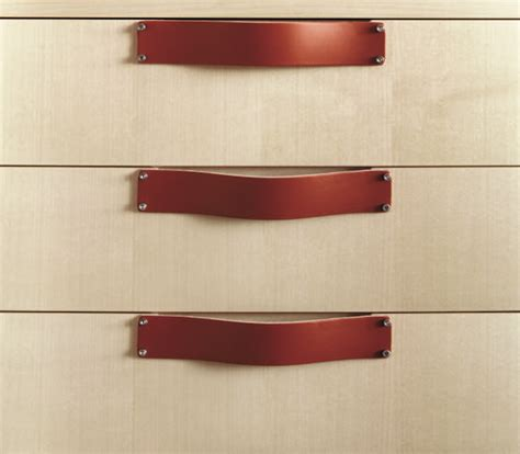 Kitchen Handles With Leather 10 Easy Pieces Leather Cabinet Hardware Remodelista