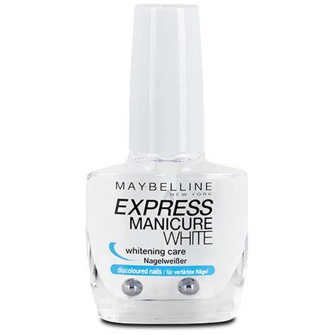 Maybelline White maybelline express manicure white nagelwei 223 er