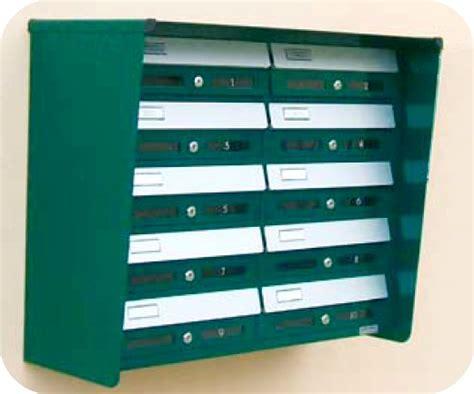 cassette delle lettere condominiali cassette per lettere e riviste per esterno con citofono