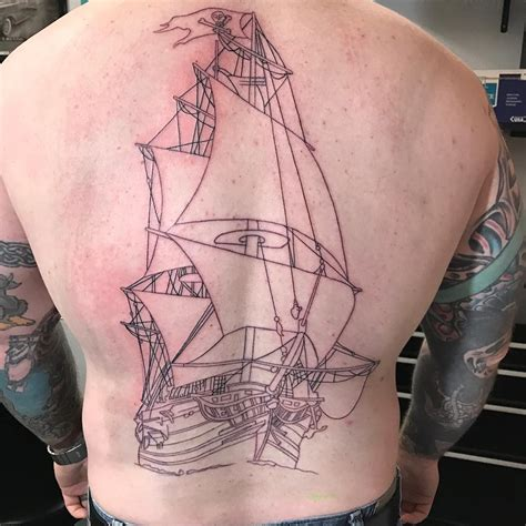 ship you with meaning 95 best pirate ship tattoo designs meanings 2018