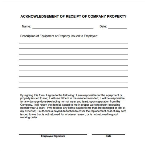 property receipt form template 10 simple receipt templates free sles exles