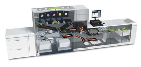 Mesin Xerox C 1000 digital printing spot shine on printing with gold
