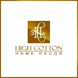 home decoration logo logo design for high cotton home decor company