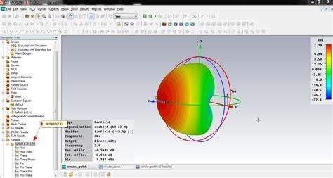 vivadom cst tutorial patch antenna