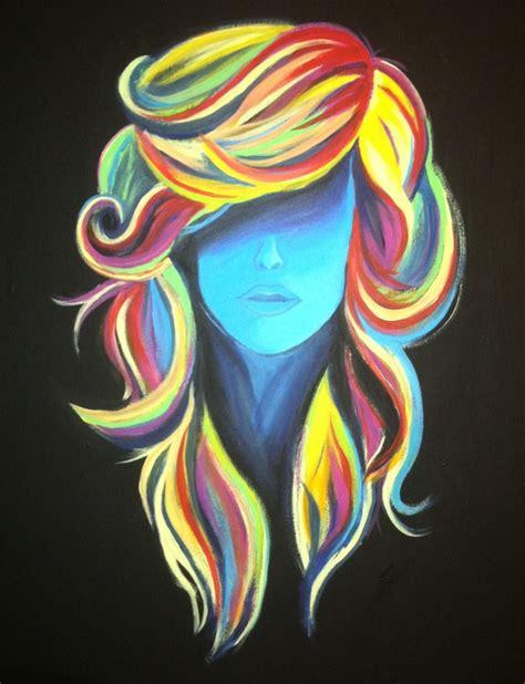 acrylic painting hair the world s catalog of ideas