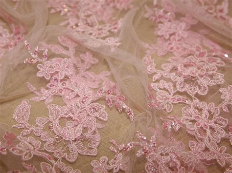beaded border scalloped edge couture bridal lace