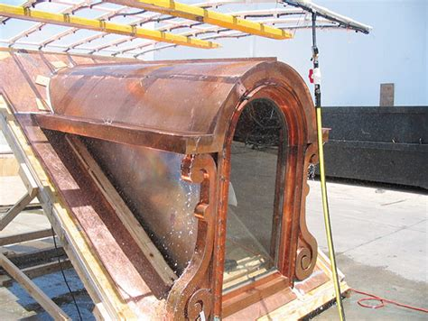 Copper Dormer The Berger Gable Top And Arched Gable Top Dormer Designs