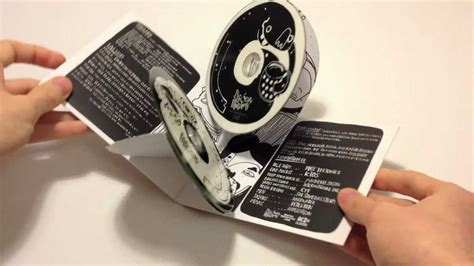 How To Make A Cd Cover Out Of Paper - pop out cd by acdsleeve hd