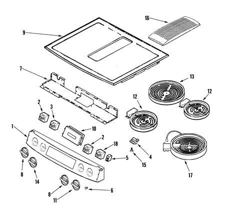 Jenn Air Electric Cooktop Replacement Parts - jenn air jennair cooking parts model jes9900bcs sears