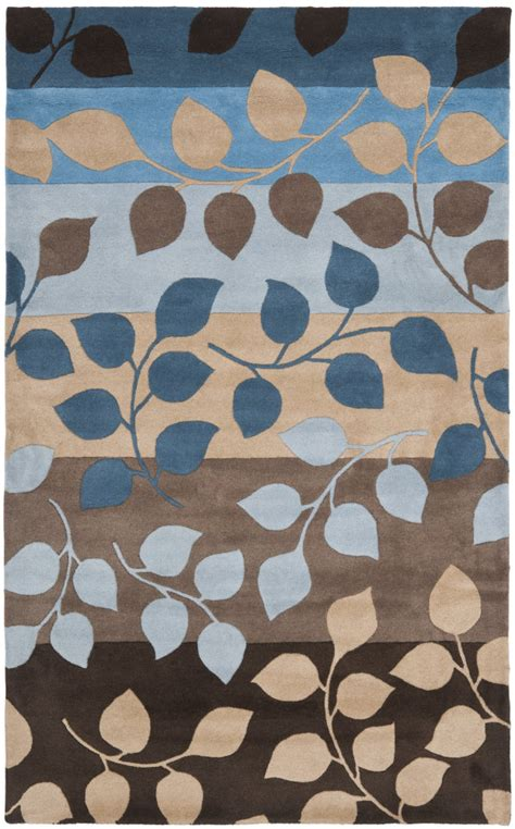 Brown And Blue Area Rugs Rugstudio Presents Safavieh Soho Soh785b Brown Blue Tufted Better Quality Area Rug