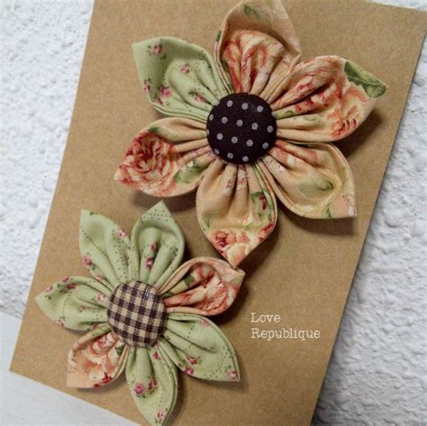 Handmade Fabric Brooches - 199 best images about fabric brooches on