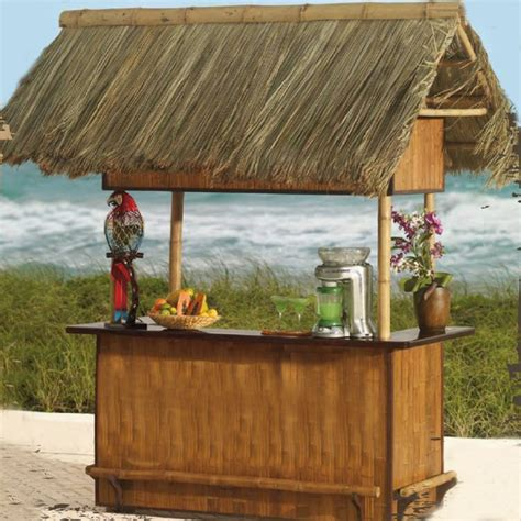Tiki Bar Gazebo Thatch Tiki Bars Gazebos