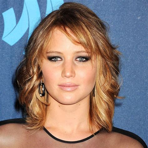 midi haircut jennifer lawrence with midi bob haircut hairstyles 2013