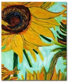 Vincent Van Gogh Vase With Twelve Sunflowers Vase With Twelve Sunflowers Detail Van Gogh Paintings