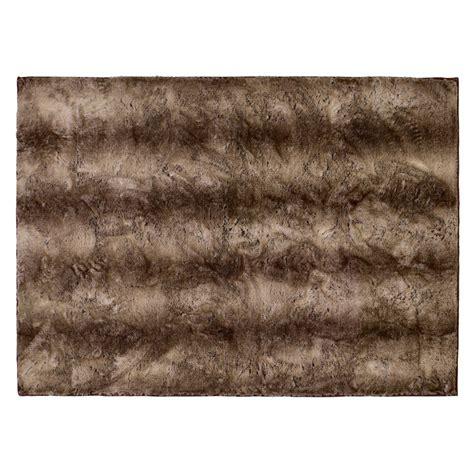 teppich fellimitat winter home fellimitat teppich yukonwolf ca 70x150 cm braun
