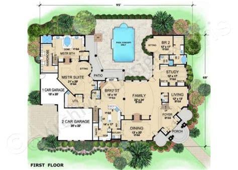villa house plans villa visola mediterranean house plan luxury house plan