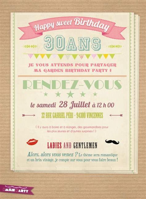 Mod Les De Lettre D Invitation Gratuite modele invitation anniversaire 18 ans carte d invitation