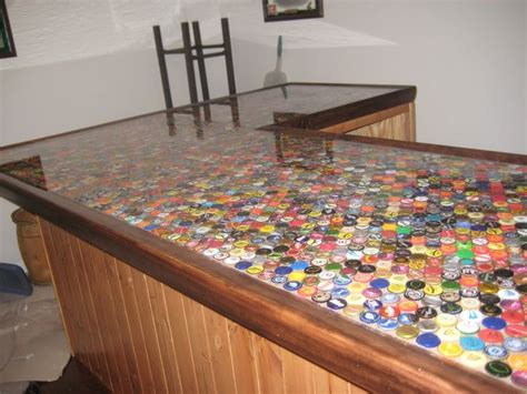 beer cap bar top beer top bar we will have this decorating the house