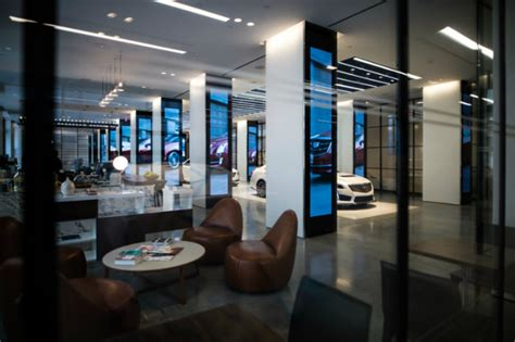 home design showrooms nyc exclusive cadillac house in nyc a showroom for luxury
