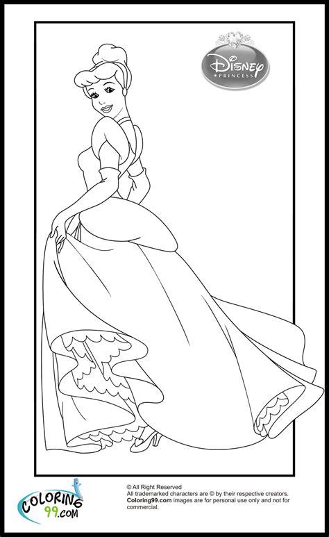 disney princess cinderella coloring pages team colors