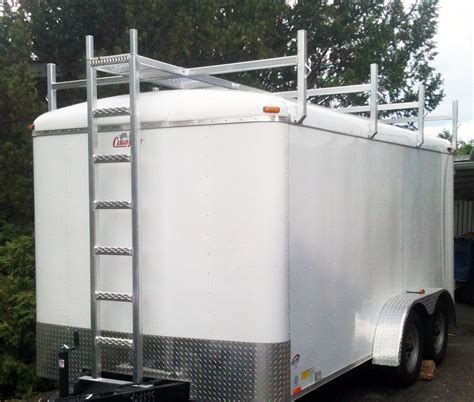 Trailer Ladder Racks Roof by Aluminum Trailer Roof Rack By C Hogelie Friend Of