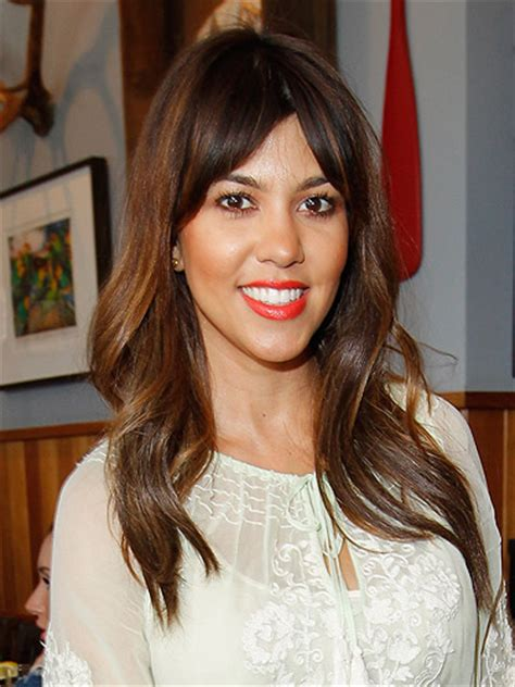 Curly Hair Dry Mid Forties | kourtney bangs 253 best images about hair styles on