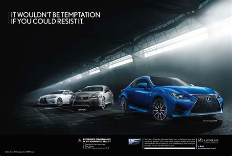 lexus ads lexus f performance commercial featuring the rc f