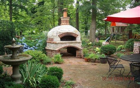 making a pizza oven backyard outdoor brick ovens 16 easy to replicate ideas houz buzz