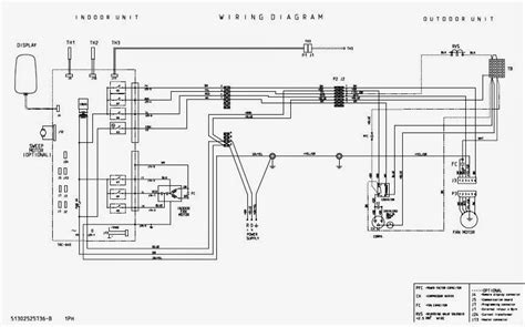 wiring diagram daikin inverter air conditioner wiring