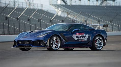2019 Chevrolet Corvette Zr1 Is Gms Most Powerful Car by 2019 Corvette Zr1 Is Indy S Most Powerful Pace Car
