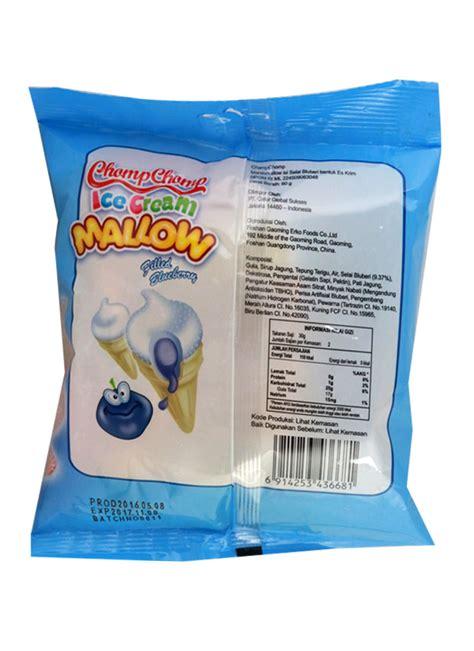 chompchomp mallow blueberry 60g chomp chomp marshmallow blueberry pck 60g