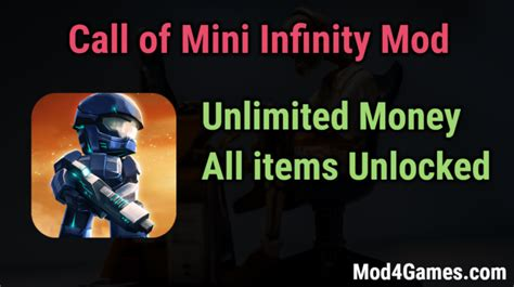 game offline mod unlimited money call of mini infinity mod unlimited money all items