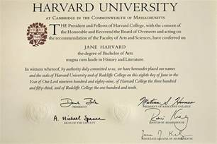 History By Degrees Harvard Gazette Harvard Diploma Template