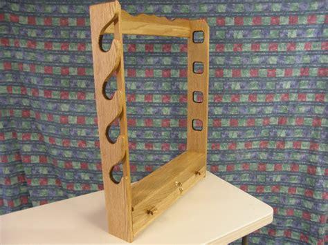 gun rack  woodworking