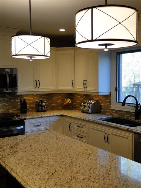 Drum Lights For Kitchen Drum Pendant Lights The Kitchen Island Could Put This Lighting The Bar For The