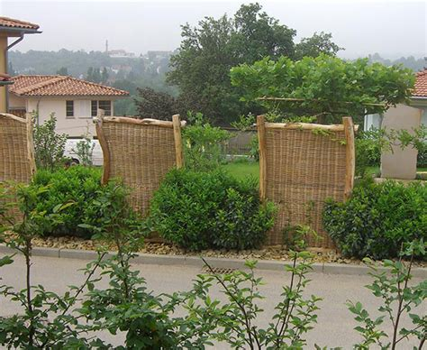 Windschutz Im Garten