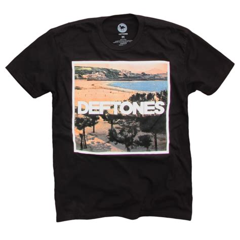Tshirt Deftones by Deftones California 2015 Tour Black T Shirt